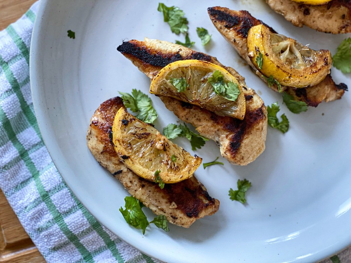 lemon garlic sous vide chicken marinade