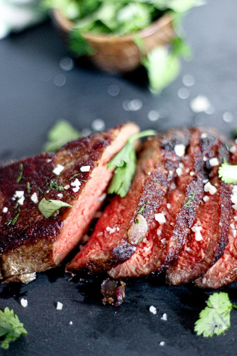 sous vide denver steak medium rare