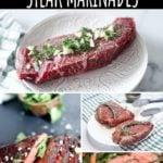 sous vide steak marinade collage pin