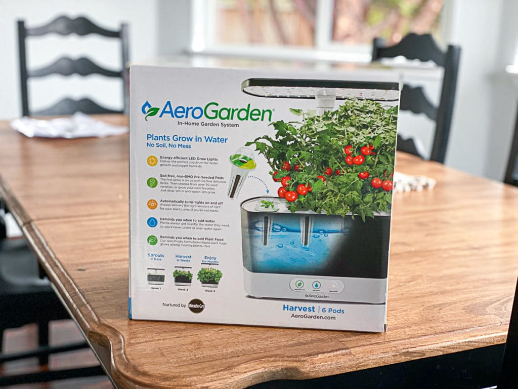 aerogarden in box