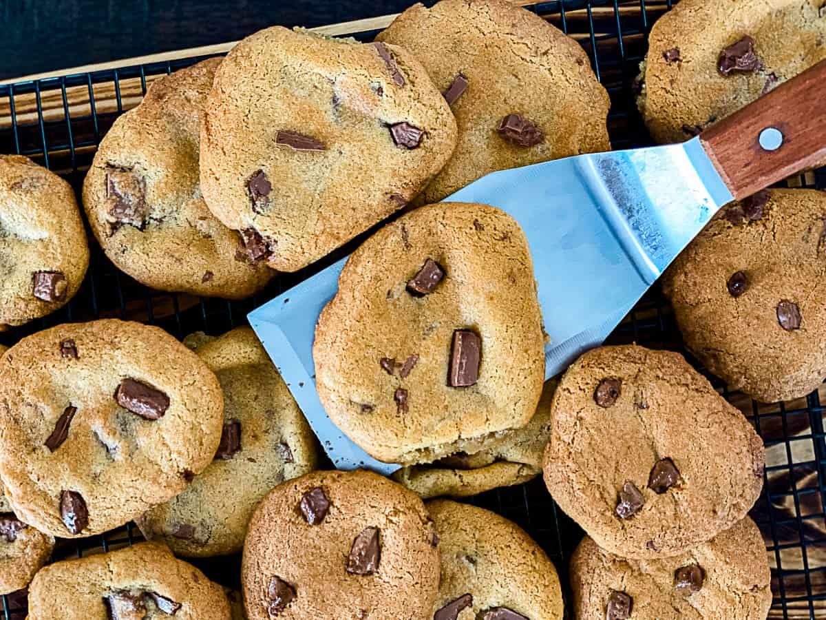 Frozen Cookies from air fryer.