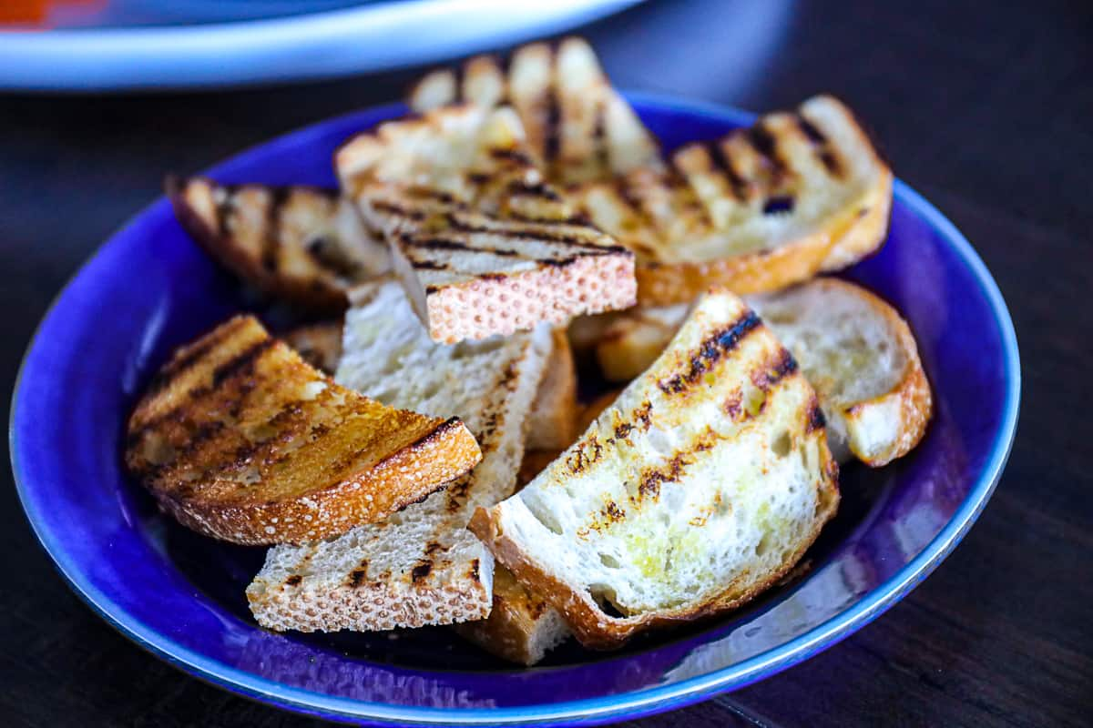 Grilled Toast Side Dish