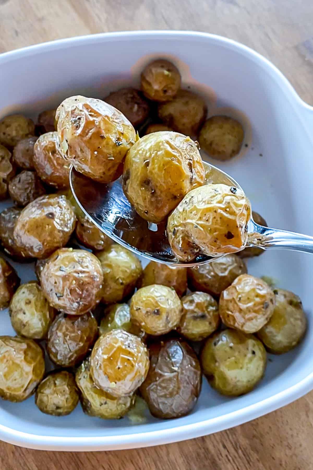 Meal Prep Air Fried Baby Potatoes