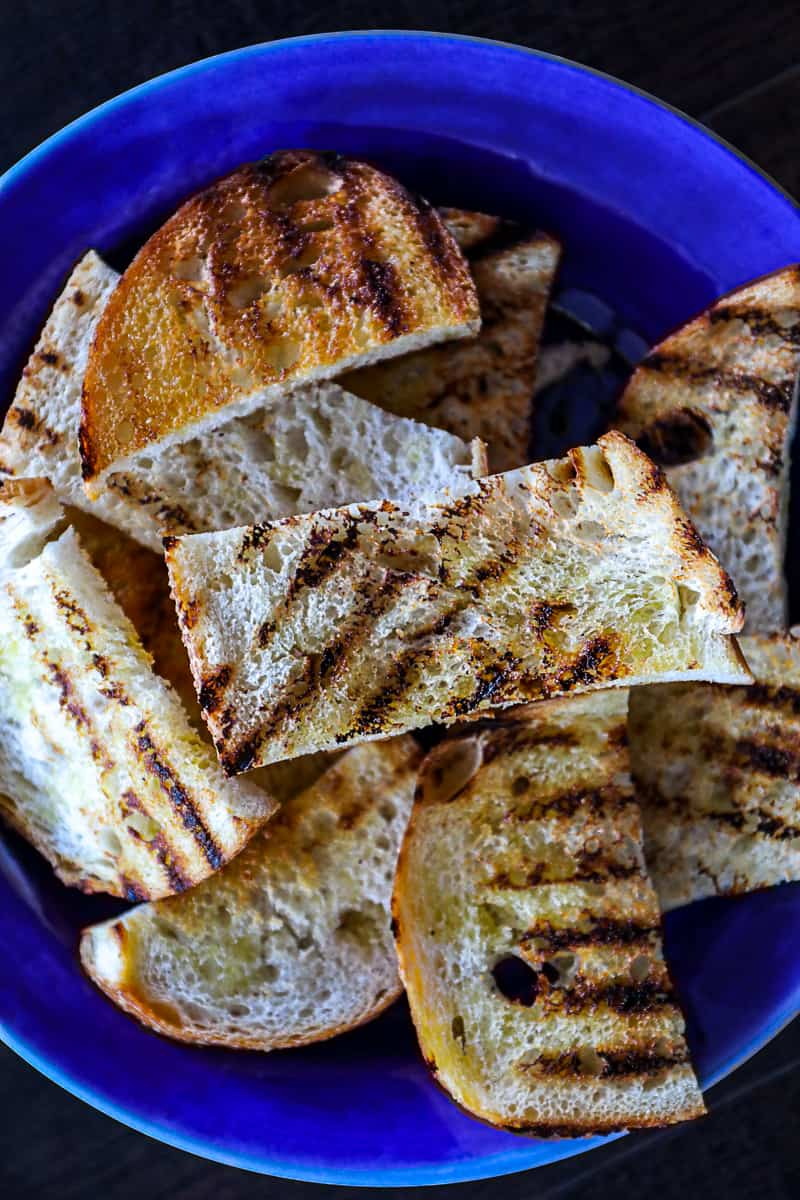 Pan Grilled Toasts