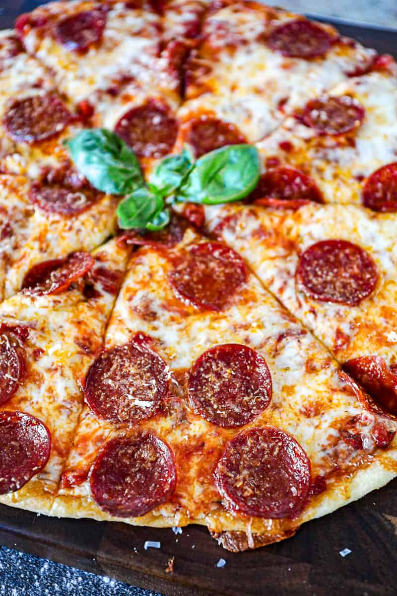 Italian Pepperoni And Cheese Pizza