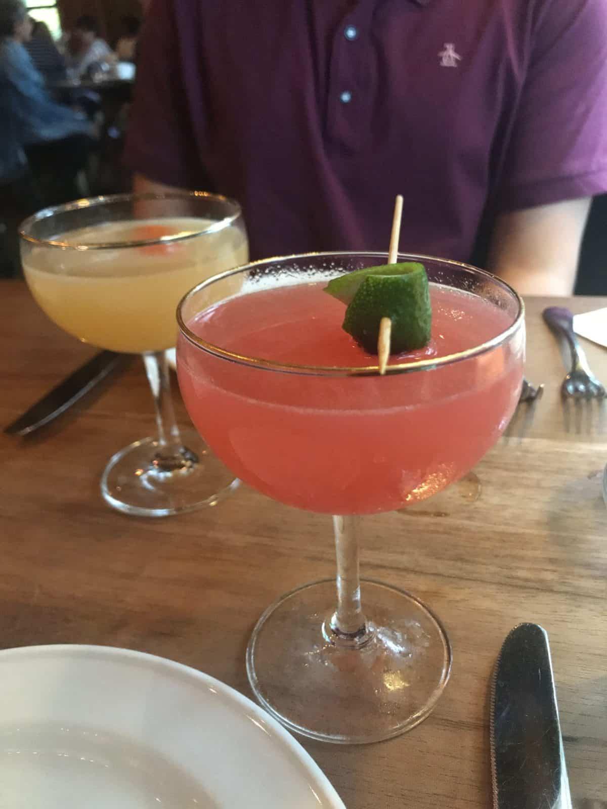Nostrana PDX dinner cocktails