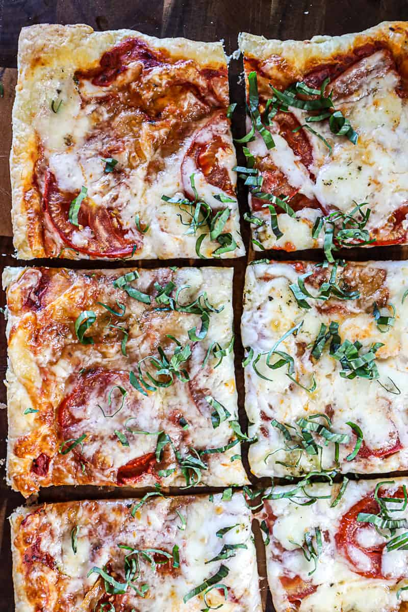 Puff Pastry Pizza Appetizer