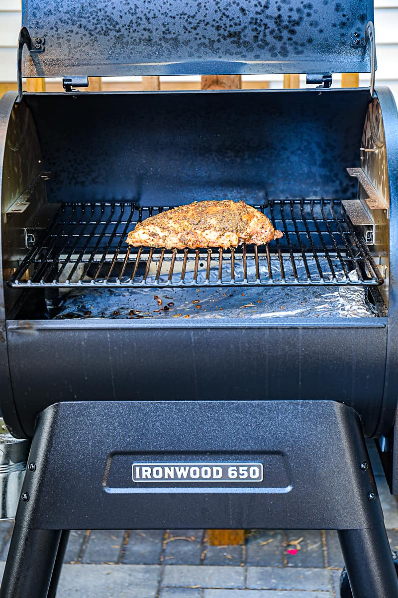 Smoked Turkey Breast With Traeger Ironwood 650 Grill