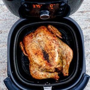 Air Fryer Whole Chicken Recipe Rotisserie Style