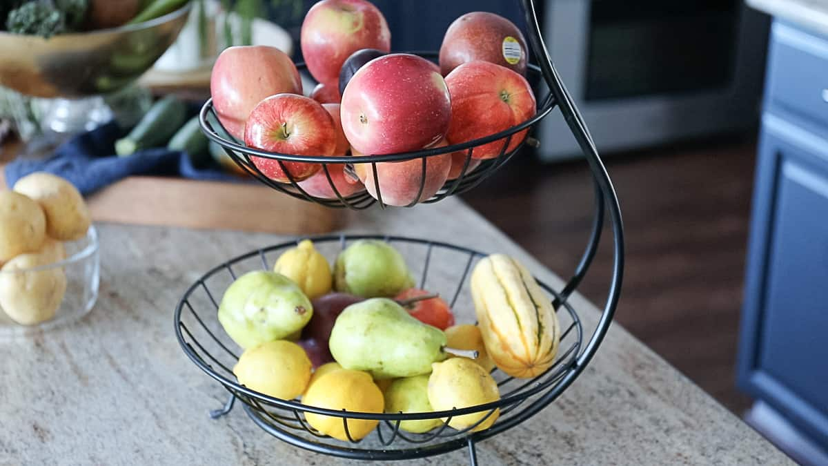 Best Fall Fruits and Vegetables In basket