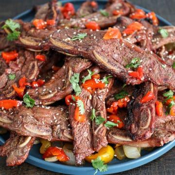 Smoked Flanken Ribs Recipe Traeger Pellet Grill