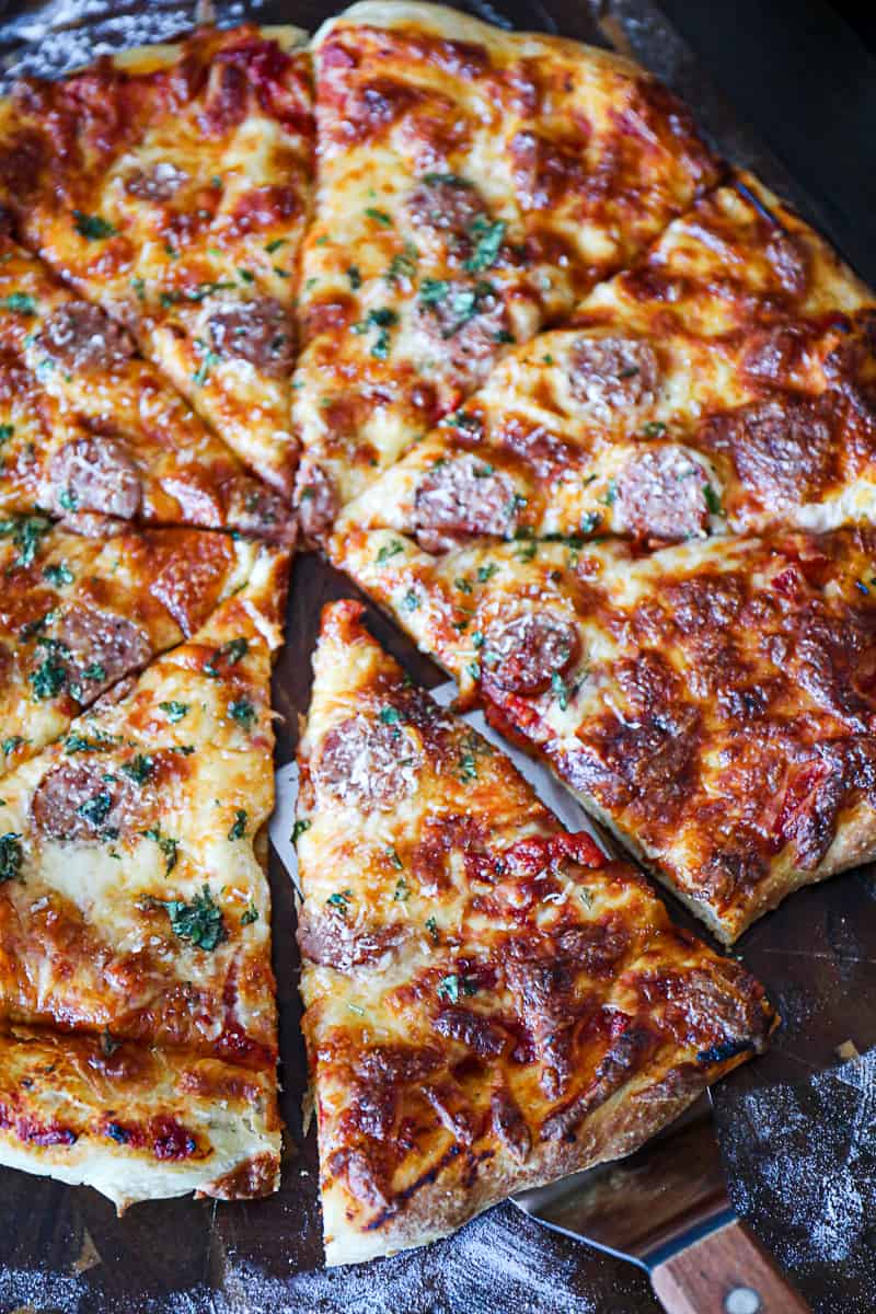 Smoked Traeger Pizza Recipe With Meat