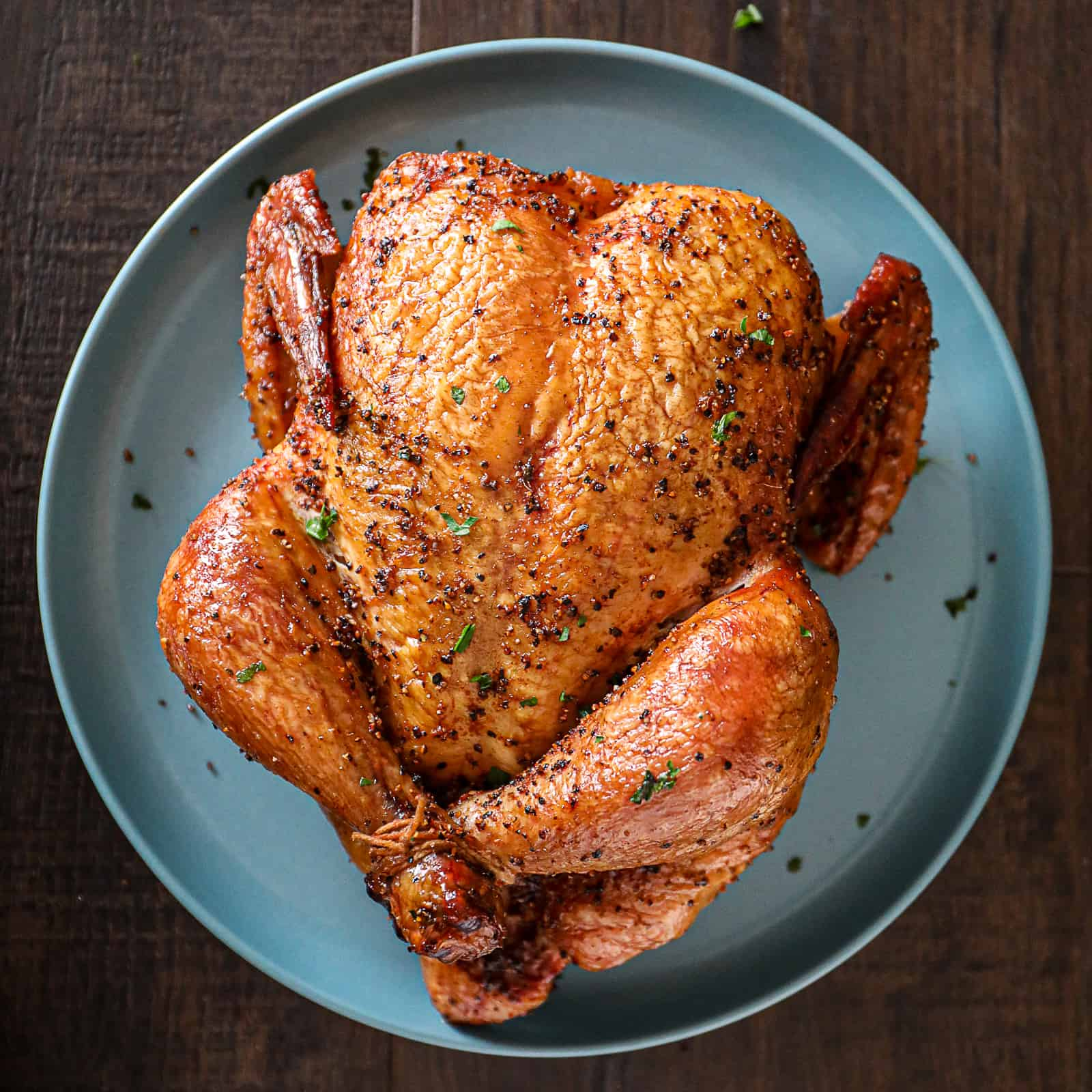 smoked whole chicken traeger